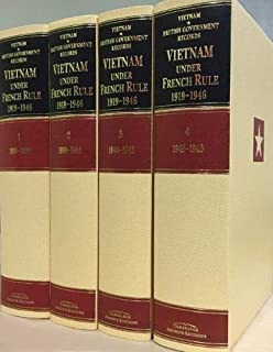 Vietnam under French Rule 1919-1946 4 Hardbacks Volume Set: The Nationalist Challenge and the Japanese Threat (Cambridge Archive Editions) (1840973900) | Amazon price tracker / tracking, Amazon price history charts, Amazon price watches, Amazon price drop alerts