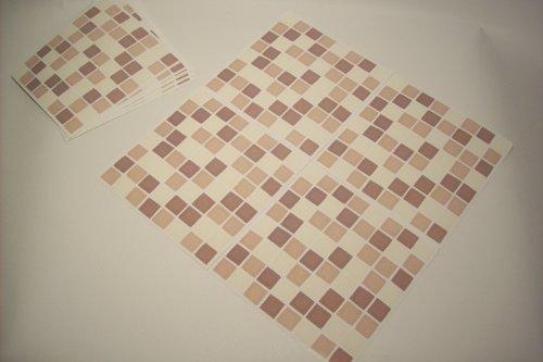 Vetro mosaico piastrelle in mattoni pietra dimensioni nero con