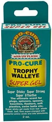 Pro-Cure Bait Scents Trophy Walleye Gel