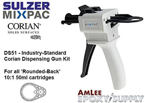 MixPac DS51 Corian dispensing kit for 50ml/1.7oz Corian Adhesives (10:1 Ratio Only) Sulzer Mixpac