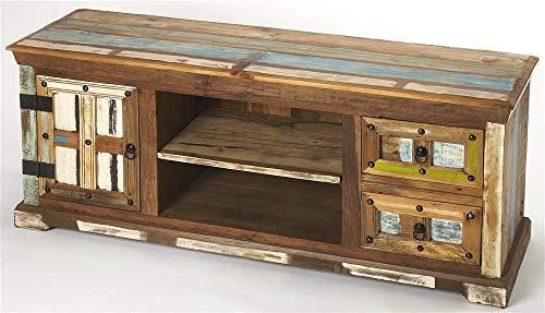 Reverb Entertainment Console in Painted Rustic