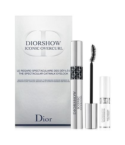 Diorshow Iconic Overcurl The Spectacular Catwalk Eye Look Set Black/lash - Max Dior