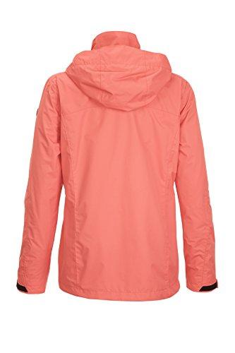 Women's Hood Functional Detachable with Jacket Killtec Lalina Coral dxfYwqdFE