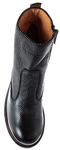 It Ankle Donna y2 Moma 40804 Boot Scarpe Vintage Vitello Tronchetto Pelle Nero CPxOOTwq