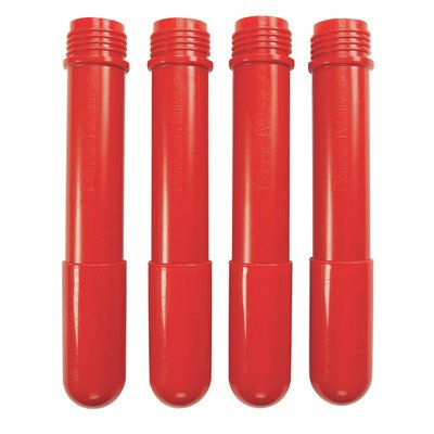 BaseLine Additional Table Leg (Set of 4) Color: Candy Apple Red, Height: 12''