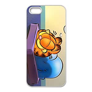 JIANADA Unique Garfield durable Cell Phone Case for iPhone 5S