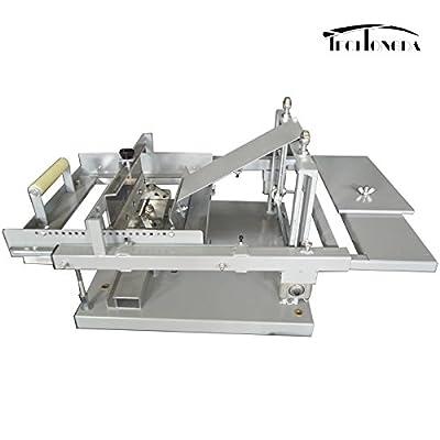 TechTongda Manual Cylinderical Screen Printing Press Pen Mug Bottle Printer Cylinder Screen Printing Machine