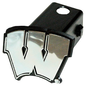 Game Day Outfitters NCAA Wisconsin Badgers Car Trailer Hitch Cover by Game Day Outfitters