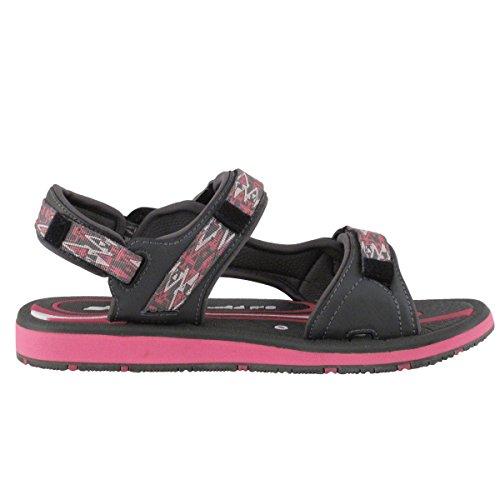 Zapatos De Oro De La Paloma Gp9149 Sandalia Duradera Al Aire Libre De Los Deportes De Agua Con El Cierre Rápido Fácil De La Cerradura Para Los Hombres Mujeres Niños 9118 Gris Fucsia