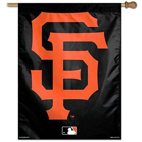 (Wincraft MLB San Francisco Giants Logo Vertical Flag, 27 x 37-Inch)