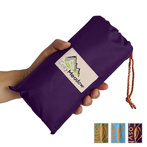 f388c39114 CosyMeadow Outdoor Festival Beach Blanket – Best Purple Picnic Parade Music  Carnival Travel Vacation Mat