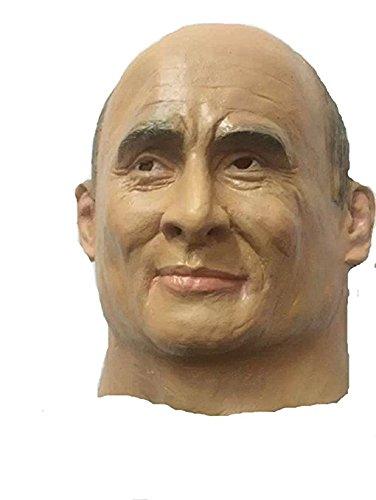 MostaShow Putin Full Head Mask Halloween Party Cosplay