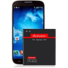 Galaxy S4 Battery, Acevan 2900mAh Li-ion Replacement Battery for Samsung Galaxy S4, I337 ( AT&T ), Verizon I545, Sprint L720, T-Mobile M919, R970, I9500, I9505, Galaxy S4 LTE I9506 [3 Years Warranty]