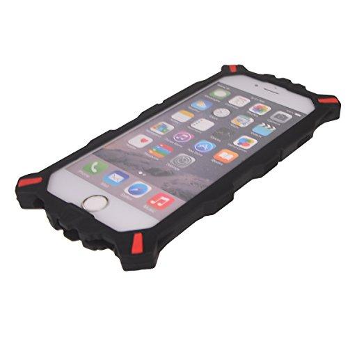 COOLKE 3D Fashion Klassische Karikatur Tier weiche Silikon Schutz Handyhülle Shell Schutzhülle Hülle case cover für Apple iPhone 6/ iPhone 6S (4.7 inches) - schwarz