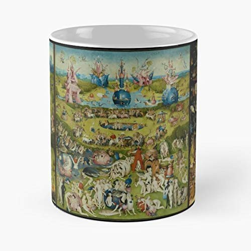 The Garden Of Earthly Delights Hieronymus Bosch Morning Coffee Mug Ceramic Novelty Holiday]()