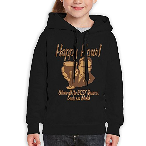 FDFAF Teenager Youth Happy Hour Where The Best Business Deals Are Made Hip Hop Classic Hoodie Sweatshirt S - Odd Sunglasses Future
