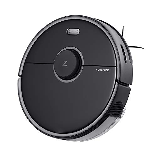 Roborock S5 MAX Robot Vacuum and Mop, Robotic Vacuum Cleaner with E-Tank, Lidar Navigation, Selective Room Cleaning, Super Powerful Suction and No-mop Zones