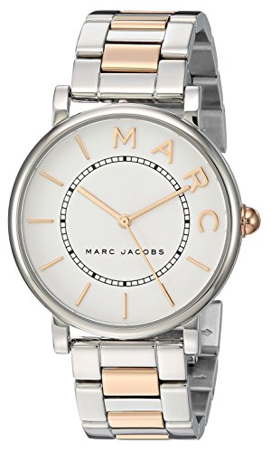 Marc Jacobs Women's 'Roxy' Quartz Stainless Steel Casual Watch, Color:Silver-Toned (Model: MJ3551)