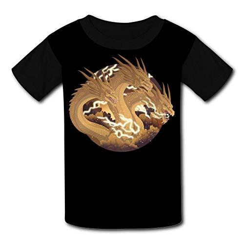 Custom Kids King Gh-Idorah Tee Shirt T-Shirt for Children Boys Girls -