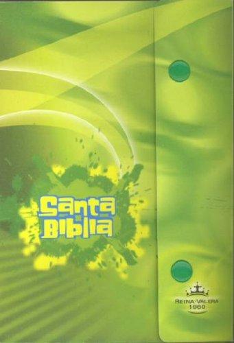 RVR60 Spanish Bible w/ Green Plastic Snap Cover (Spanish Edition) American Bible Society