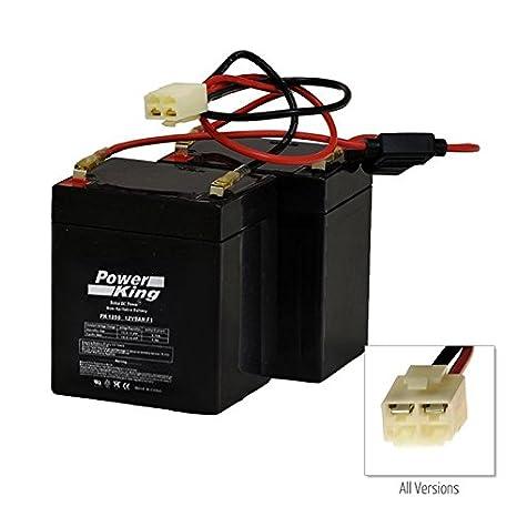 amazon com razor crazy cart replacement batteries wiring harness rh amazon com