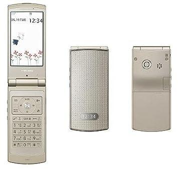 a199c669ad Amazon | NEC docomo STYLE series N-08A Nuance Gold | 携帯電話本体 通販