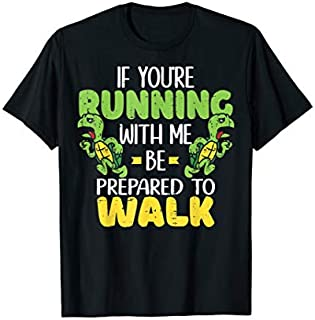 Slow Runner If You're Running With Me Turtle Running Runner T-shirt | Size S - 5XL