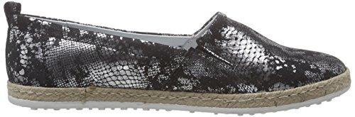 Emily Damen 846 Shoes Schwarz Marc Espadrilles silver black 5w4E18q