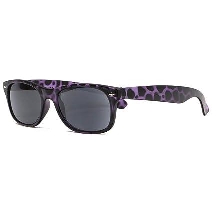 Gafas de sol con lupa solar, color violeta y negro, de moda ...