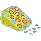 Melissa & Doug Sunny Patch Camo Chameleon Bean Bag Toss Action Game,Multi