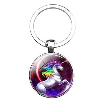 Llavero de unicornio, llavero, joyería de unicornio, regalo ...