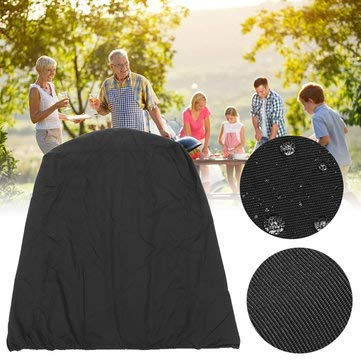 Bbq Grill Waterproof Cover Resistant Convenient Char Broil Stitching Inch ()