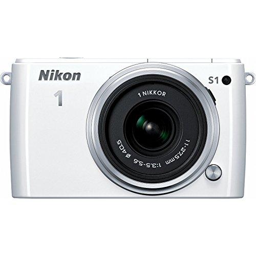 Motion Nikon Detection (Nikon 1 S1 10.1MP White Digital Camera 11-27.5mm Lens (Certified Refurbished))