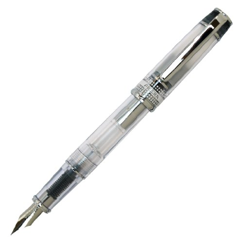 Pilot Fine Nib Transparent Fountain FPRN 350R TBF