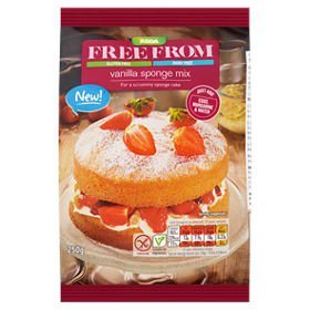 Amazoncom Asda Free From Vanilla Sponge Mix 250g