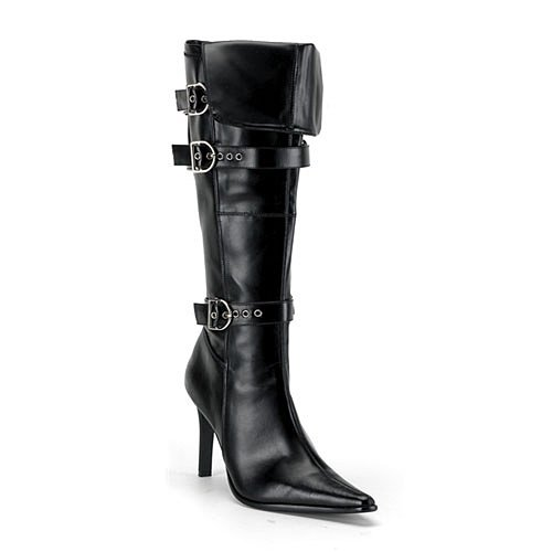 [Funtasma by Pleaser Women's Halloween Pirate-125 Boot,Black,11 M] (Angel Halloween Costumes 2016)