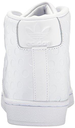 Scarpa Da Tennis Adidas Original Womens Promodel W Bianca / Bianca / Nera