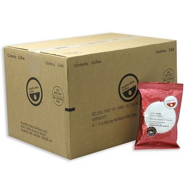 Seattle's Best Level 3 Coffee, Portion Packs (1.75 oz., 42 ct.)-2 PACKS by Europe Standard