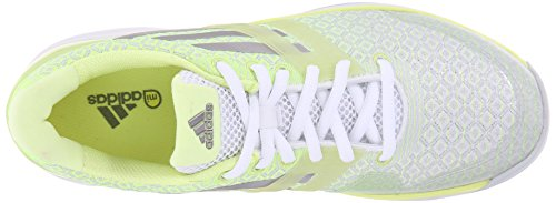 Adidas Performance Women's Adizero Attack W Tennis Shoe White/Silver/Frozen Yellow sale cheap prices low cost sale online outlet new from china sale online LuaXhAm3Fp