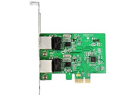 IOCrest SI-PEX24042 4 Port Gigabit Ethernet PCI-E x1 Network Interface Card
