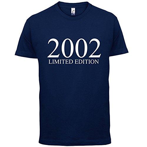 2002 Limierte Auflage / Limited Edition - 15. Geburtstag - Herren T-Shirt - Navy - XS