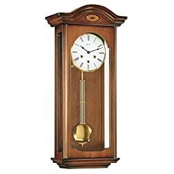 Hermle 70456030341 Oxford Mechanical German Regulator Clock - Walnut