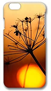 Beautiful Flower Sunset Customized Hard Shell 3d iphone 6 plus Case By Custom Service Your Perfect Choice