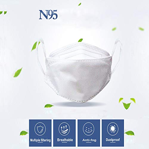1 Pieces N95 FFP2 Protecting Mask Filter Sanitary Face Masks Anti Infection Dust PM2.5 Air Pollution Mouth Masks Medical Surgical Dental Mask Breathing Safety Masks