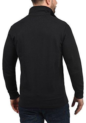 Blend Suave Jersey con Alio Tacto Polar Al Forro Black 70155 Cremallera Chaqueta Capucha con Sudadera con SPSqrwF