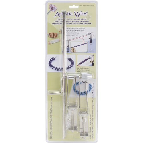 Artistic Wire Beadalon Professional Deluxe 5-Rod Coiling Gizmo, 7mm/5mm/3mm/2.5mm/1mm by 38.1cm