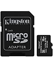 Kingston Canvas Select Plus microSD-kaart Inclusief SD-adapter 16 GB
