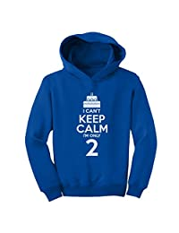 Birthday Cake - I Can't Keep Calm I'm Two Children Kids Funny Hoodie