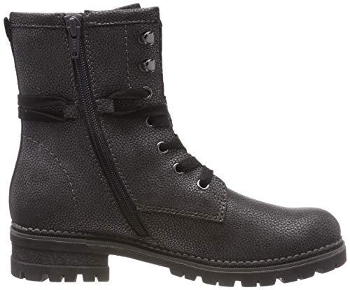 21 917 Oliver Combat 5 Grau s Met Damen Boots Pewter 917 5 25225 qaOxX4w
