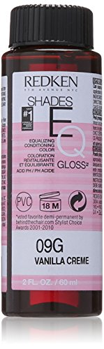 Creme Shade (Redken Shades EQ Gloss for Women Hair Color, Vanilla Creme, 2 Ounce)